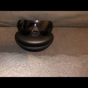 Emporio Armani Sunglasses Black & Case